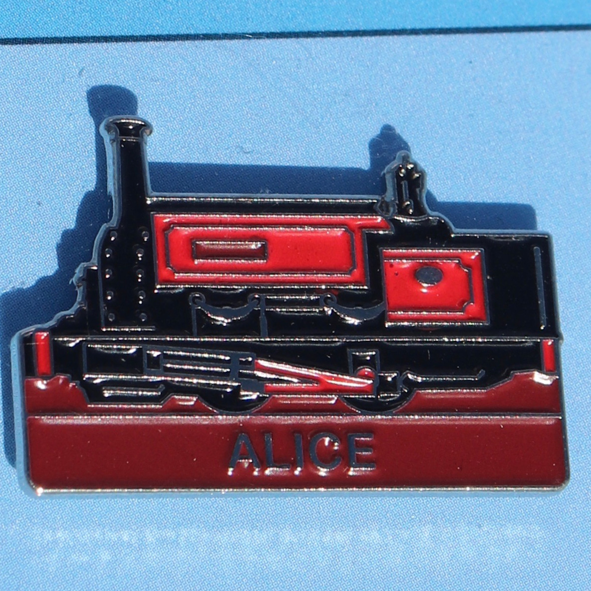 Alice Pin Badge