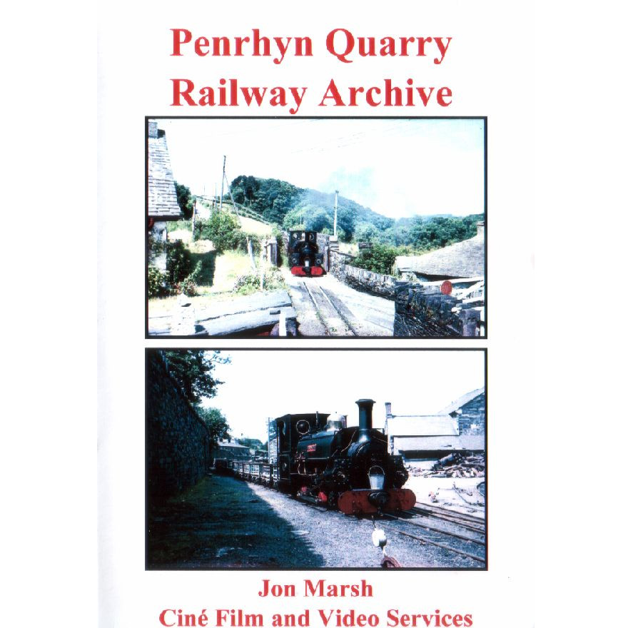 Penrhyn Quarry Railway Archive – Jon Marsh