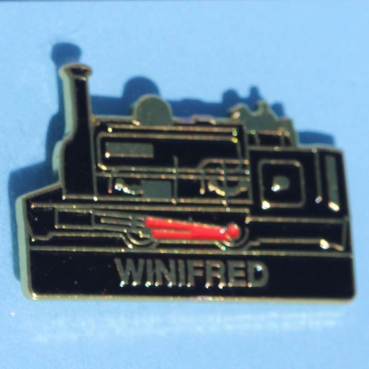 Winifred Pin Badge
