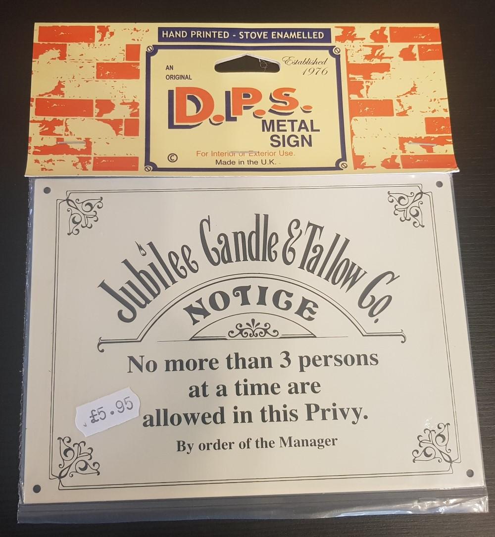 DPS Signs 'Privy Notice'